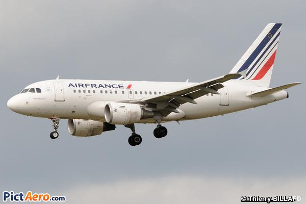 Airbus A318-111 (Air France)