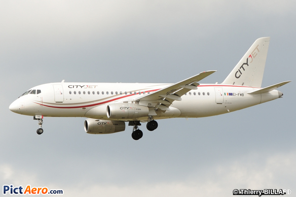 Sukhoi Superjet 100-95 (SSJ100-95) (CityJet)