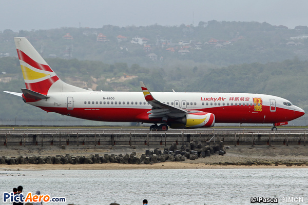 Boeing 737-8MB/WL (Lucky Air)