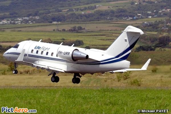 Canadair CL-600-2B16 Challenger 604 (Lifeflight Australia)
