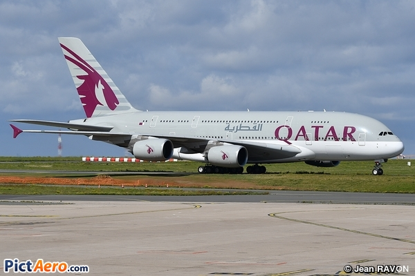 Airbus A380-861 (Qatar Airways)