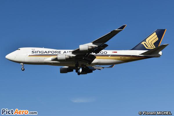 Boeing 747-412F/SCD (Singapore Airlines Cargo)