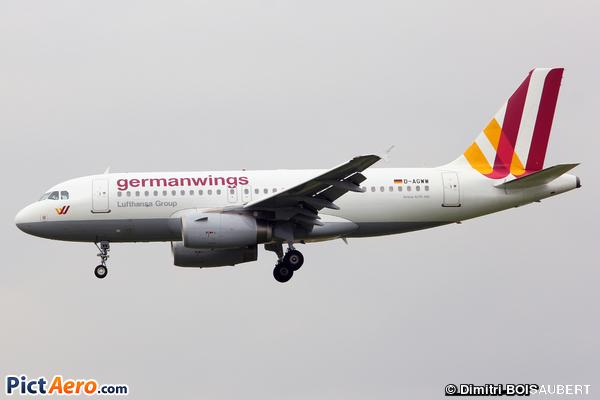 Airbus A319-132 (Germanwings)