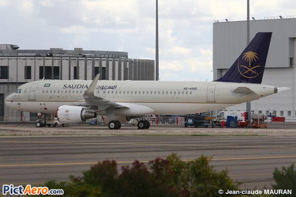Airbus A320-214(SL) (Saudi Arabian Airlines)