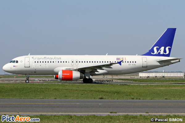 Airbus A320-232 (Scandinavian Airlines (SAS))