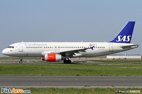 Airbus A320-232 (Scandinavian Airlines (SAS))