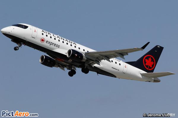 Embraer ERJ-175LR (ERJ-170-200 LR) (Air Canada Express)