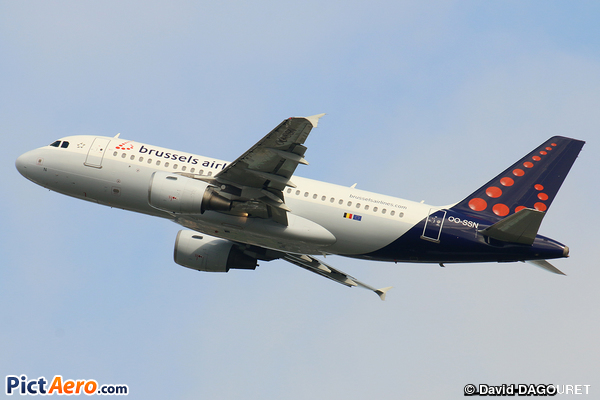 Airbus A319-112 (Brussels Airlines)