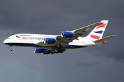 Airbus A380-841 (G-XLEB)