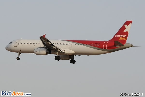 Airbus A321-231 (Nordwind Airlines)