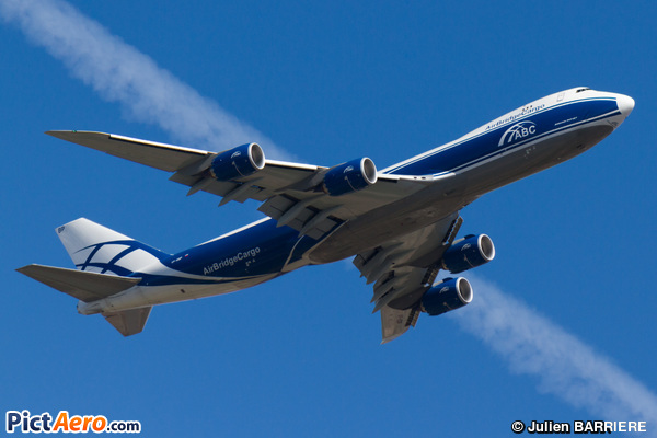 Boeing 747-8HVF  (Air Bridge Cargo Airlines)