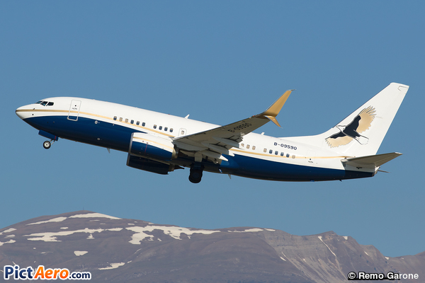 Boeing 737-79V BBJ (Ruentex Group)