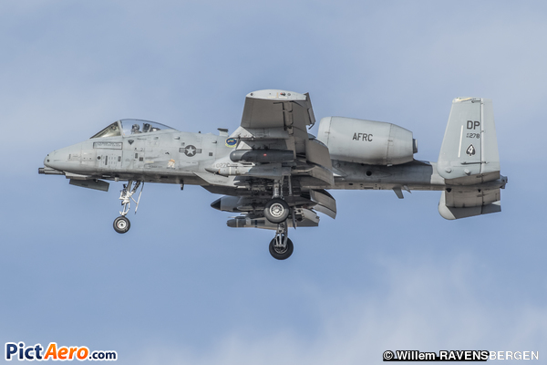 Fairchild A-10C Thunderbolt II (United States - US Air Force (USAF))