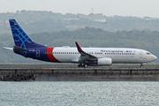 Boeing 737-8Q8/WL (PK-CRD)