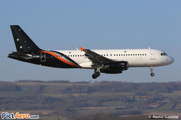 Airbus A320-233 (Titan Airways)