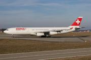 Airbus A340-313X (HB-JMF)
