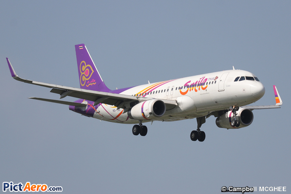 Airbus A320-232/SL (Thai Smile Airways)