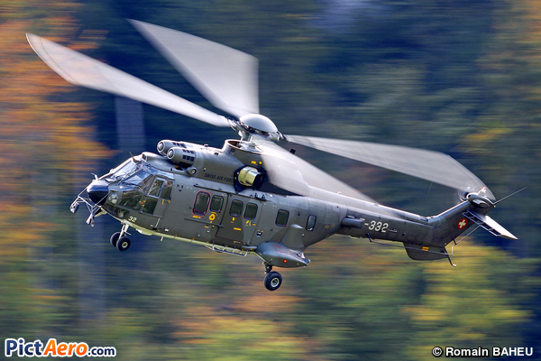 Eurocopter EC-532UL Cougar (Switzerland - Air Force)