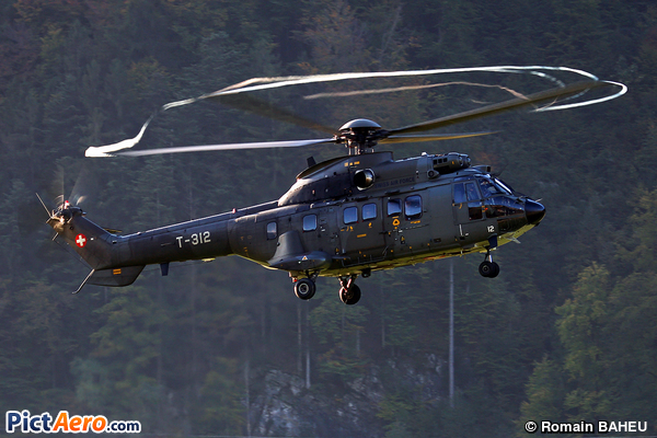Eurocopter AS 332 M1 Super Puma (Switzerland - Air Force)