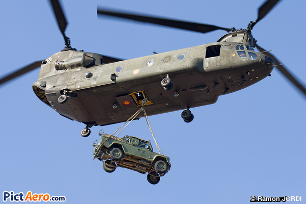 Boeing CH-47D Chinook (Spain - Army)