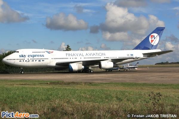 747-283B(SF) (Sky Express Aircargo)