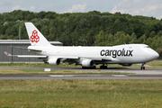 Boeing 747-4EVF/ER/SCD (LX-JCV)