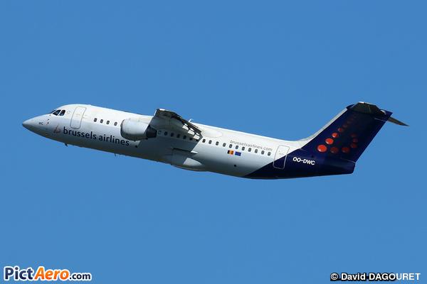 British Aerospace Avro RJ100 (Brussels Airlines)