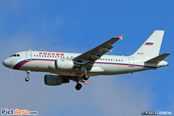 Airbus A319-111 (Rossiya - Russian Airlines)