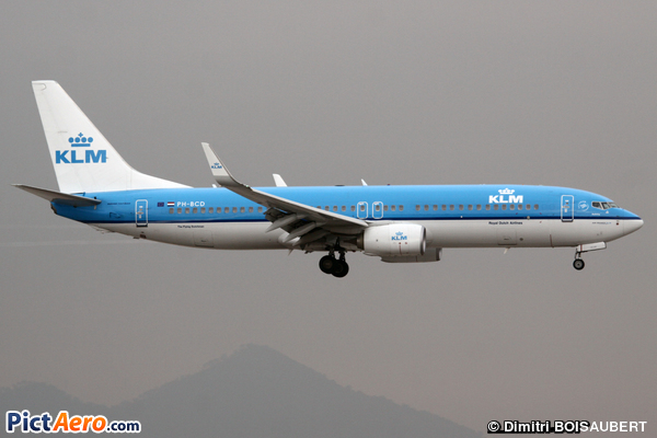 Boeing 737-8K2(WL) (KLM Royal Dutch Airlines)