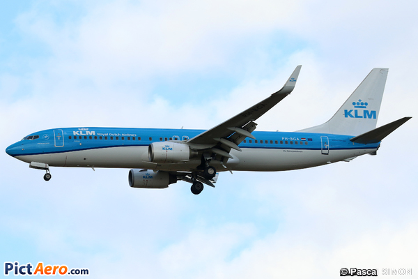 Boeing 737-8K2/WL (KLM Royal Dutch Airlines)