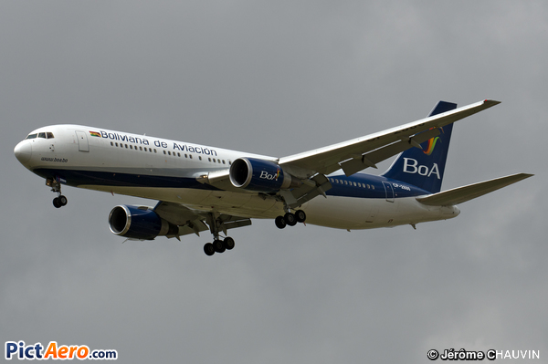 Boeing 767-33A/ER (Boliviana de Aviación)