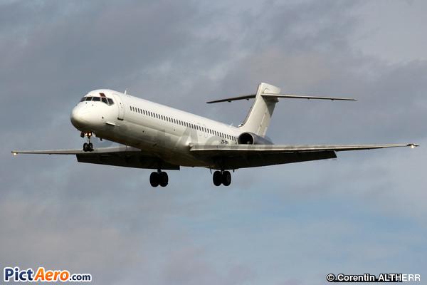 McDonnell Douglas MD-87 (Gryphon Air/Tunisair)
