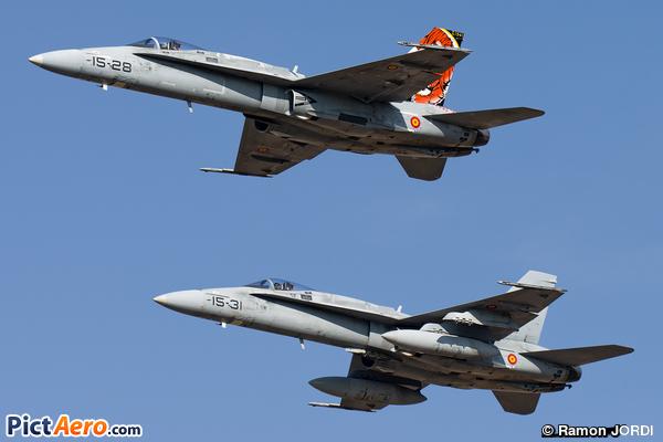 McDonnell Douglas EF-18A Hornet (Spain - Air Force)