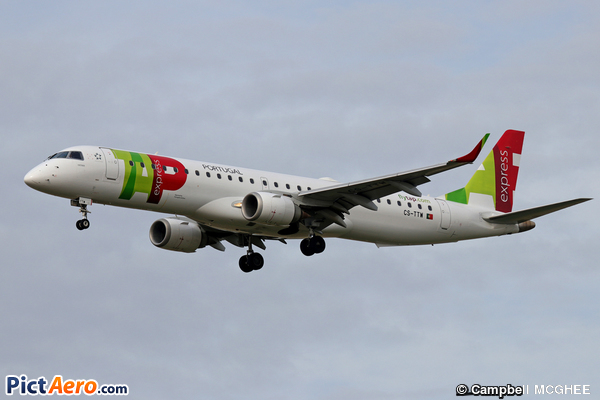 Embraer ERJ-195AR  (TAP Express)