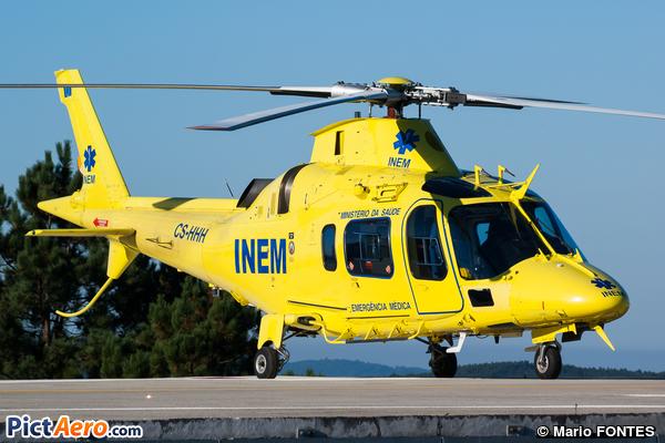 AgustaWestland AW109E Power (INEM (Inaer))