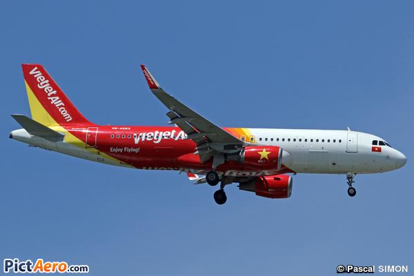 Airbus A320-214/WL (VietjetAir)