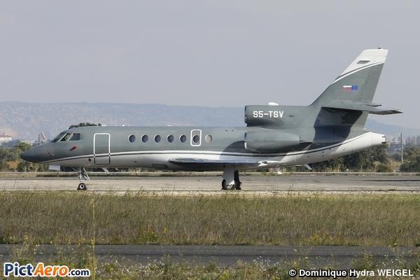 Dassault Falcon 50EX (Elit'Avia)