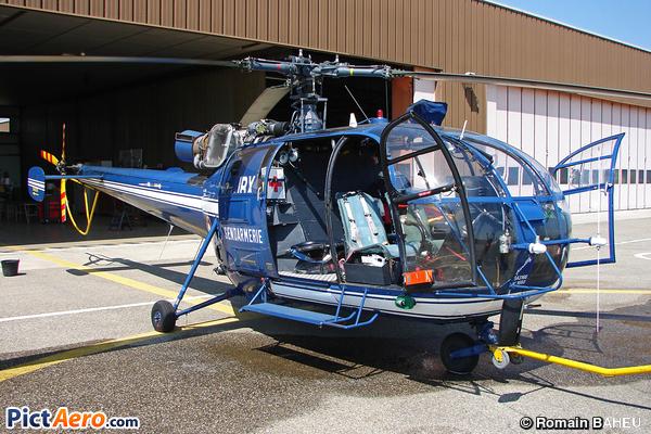 Aérospatiale SA-316B Alouette III (France - Gendarmerie)