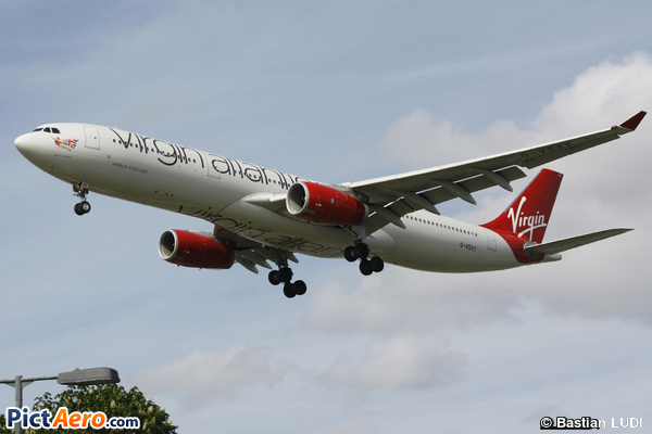 Airbus A330-343X (Virgin Atlantic Airways)