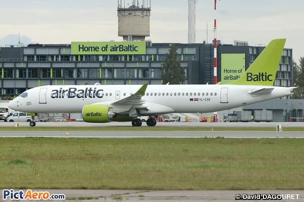 Bombardier CSeries CS300 (BD-500-1A11) (Air Baltic)