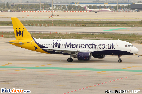 Airbus A320-214 (Monarch Airlines)