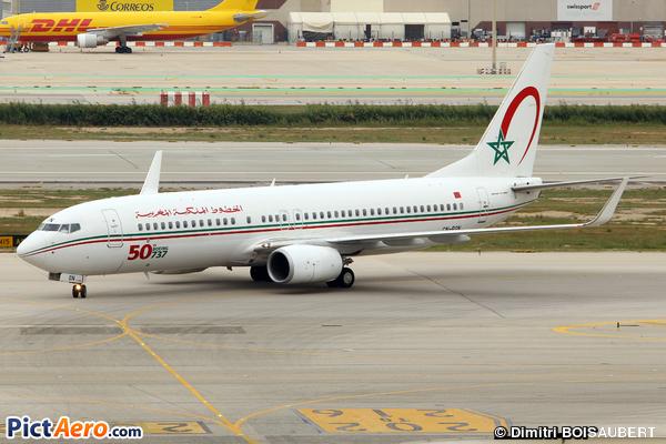 Boeing 737-8B6(WL) (Royal Air Maroc (RAM))