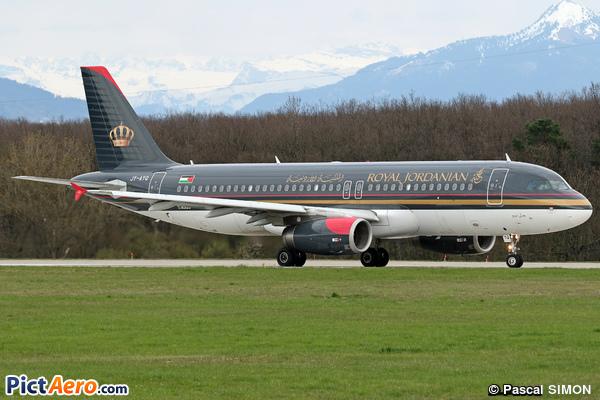 Airbus A320-232 (Royal Jordanian)