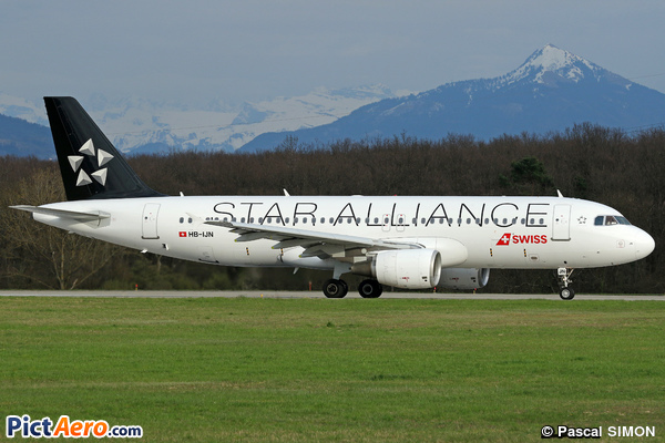 Airbus A320-214 (Swiss International Air Lines)