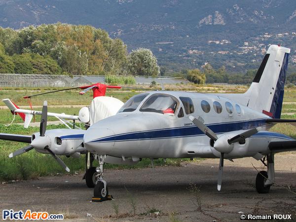Cessna 414 Chancellor (Alpha Jet)