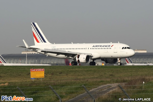 Airbus A320-214/WL  (Air France)