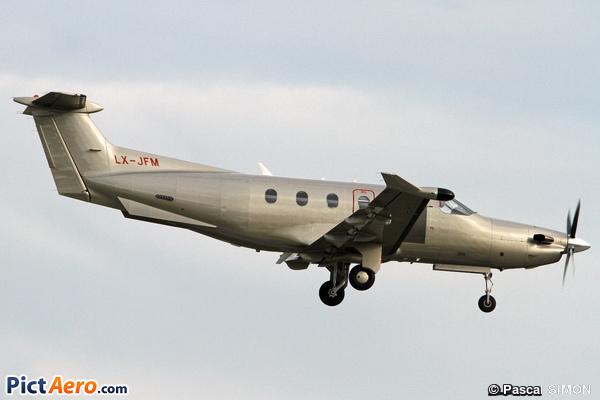 Pilatus PC-12/47 (Jetfly Aviation SA Luxembourg)
