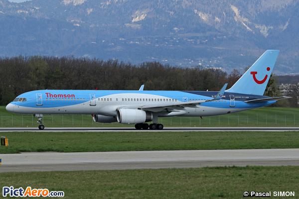 Boeing 757-28A/WL (Thomson Airways)