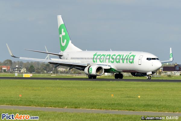 Boeing 737-8K2  (Transavia)