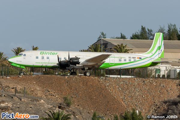 Douglas DC-7C Seven Seas (Binter Canarias)